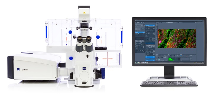 Mikroskop ZEISS LSM 880 z Airyscan FAST
