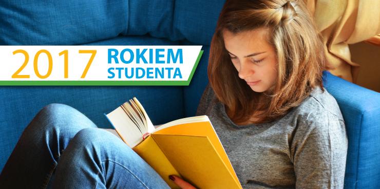 """Plakat projektu """"2017 – Rokiem Studenta"""""""