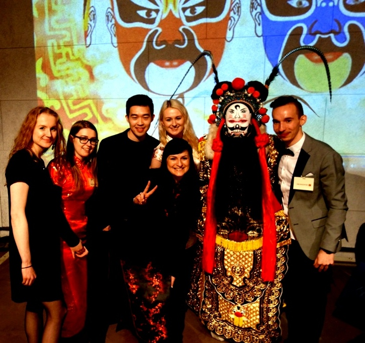 Zdjęcie z Wielkiej Gali Szczęśliwego Chińskiego Nowego Roku, która odbyła się 21 stycznia 2017 roku w Kopalni Guido w Zabrzu