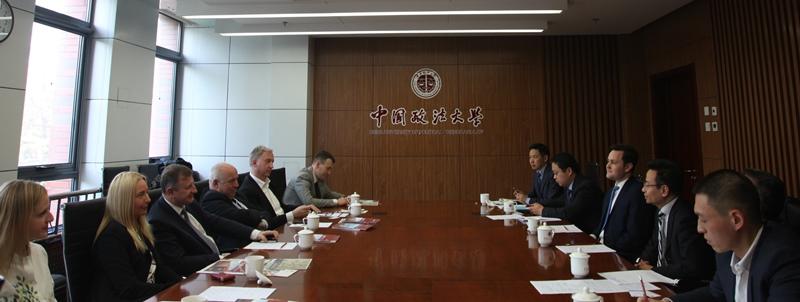 Spotkanie delegacji polskich i chińskich uczelni