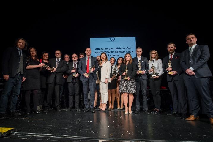 Laureaci i organizatorzy Lauru Studenckiego