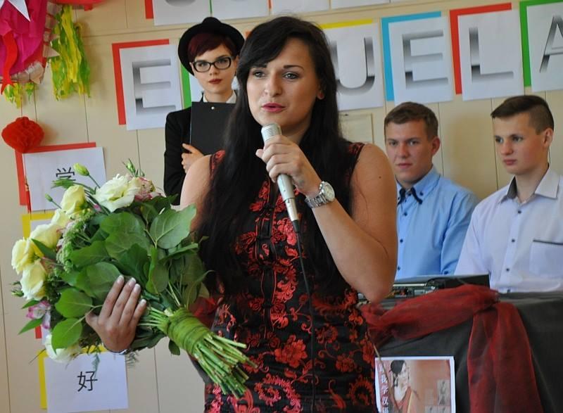 Na zdjęciu Katarzyna Bańka z Zakładu Psycholingwistyki Stosowanej