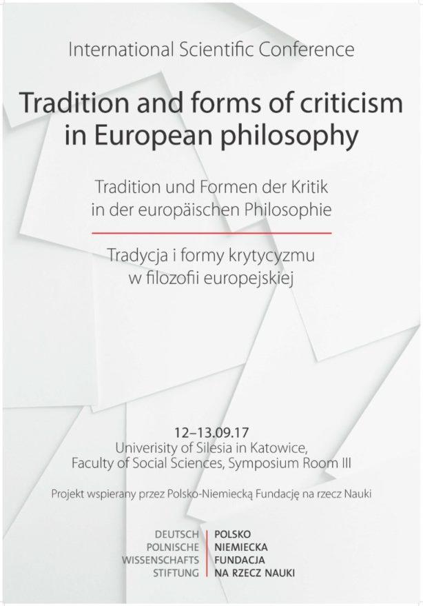 Plakat konferencji, na którym znajdują się informacje na temat tytułu, czasu oraz miejsca wydarzenia w języku polskim i angielskim