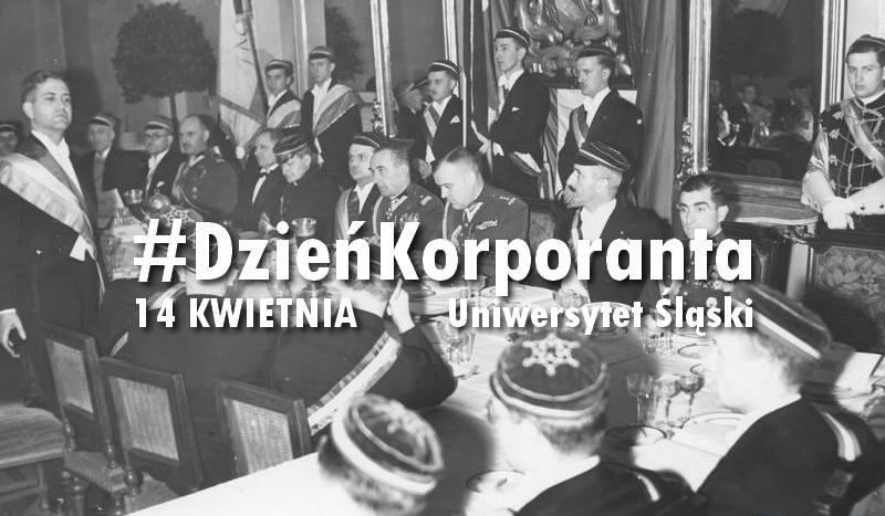 plakat promujący Dzień Korporanta