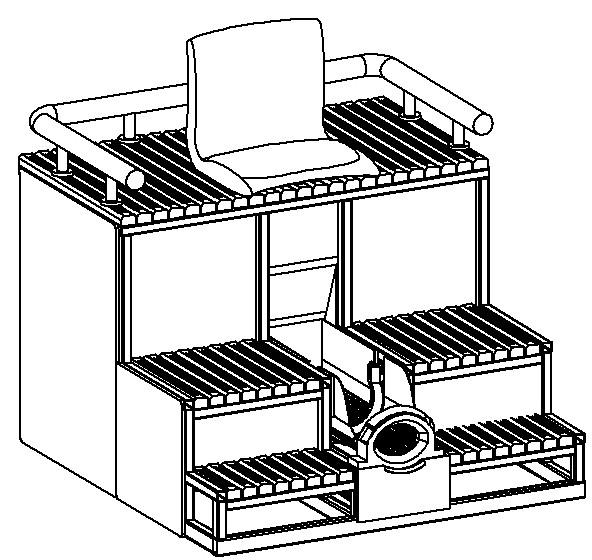 Rysunek przedstawiający opatentowane urządzenie