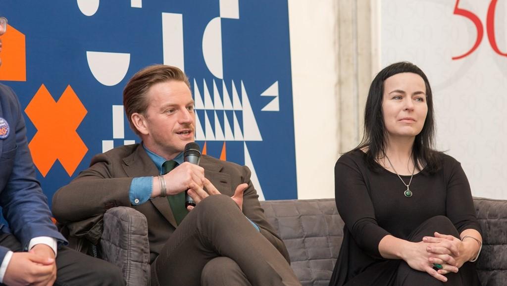 Szczepan Twardoch i dr Magdalena Wołek