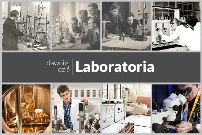 Laboratoria Uniwersytetu Śląskiego dawniej i dziś