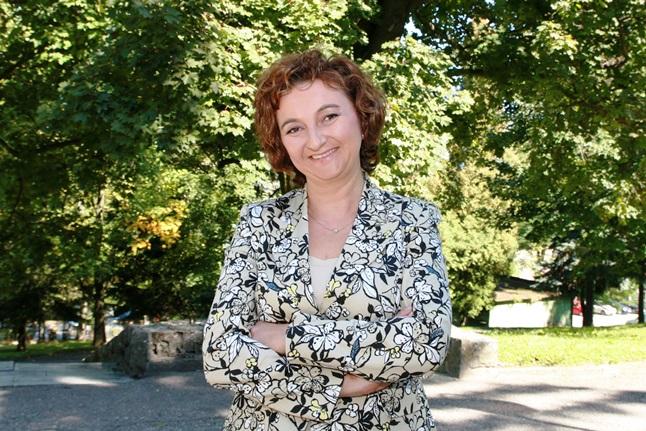 Zdjęcie portretowe dr Katarzyny Marcol