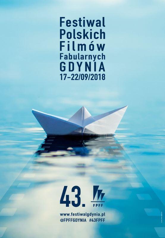 Plakat promujący 43. Festiwal Polskich Filmów Fabularnych w Gdyni