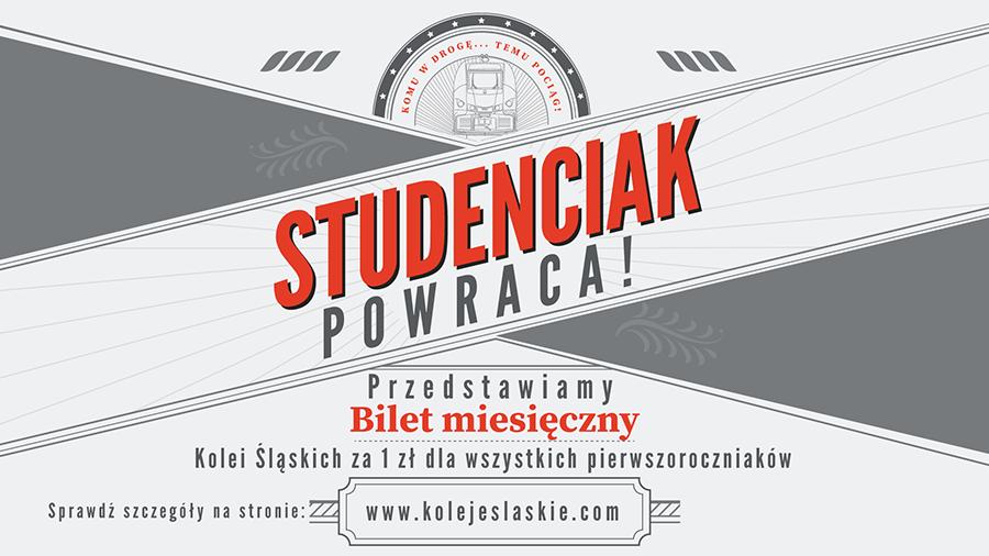 Grafika promująca ofertę dla studentów pierwszego roku