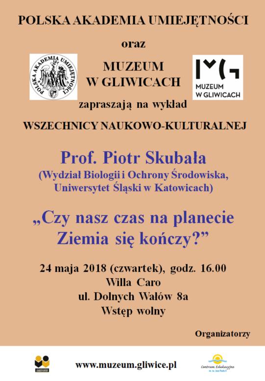 Plakat spotkania