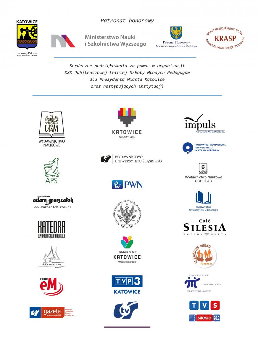 Plik graficzny – lista instytucji wspierających wydarzenie