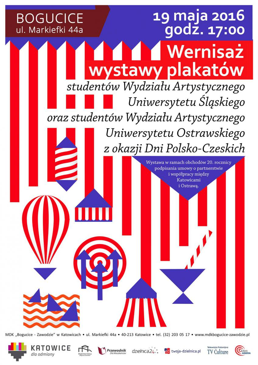 Plakat zapraszający na wystawę