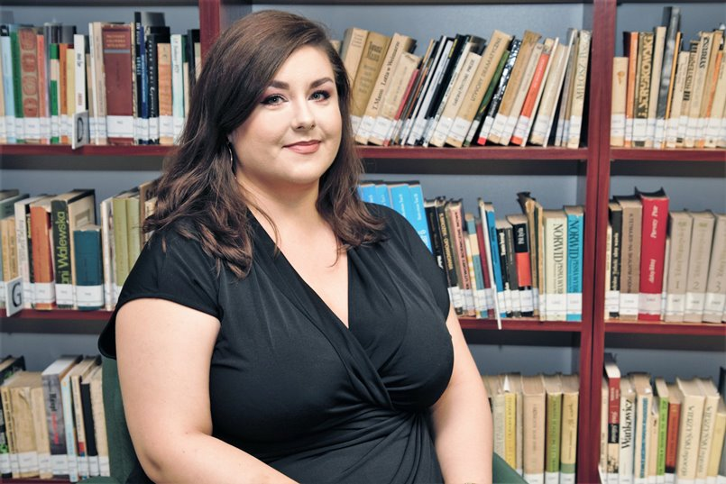 Dr Agnieszka Podruczna z Zakładu Studiów Postkolonialnych i Literatur Podróżniczych UŚ