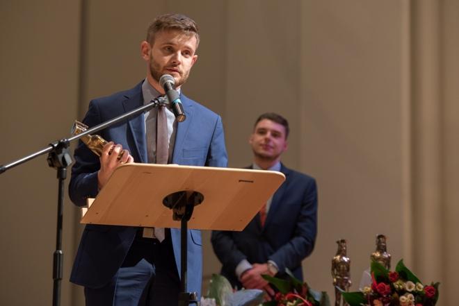 Laureat nagrody w kategorii przyjaciel studenta – mgr Maciej Tarasek