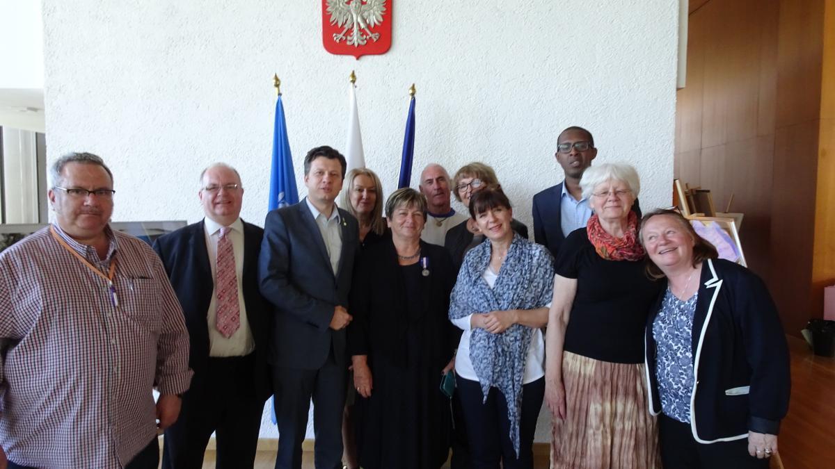zdjęcie uczestników 8. Seminarium Korczakowskiego