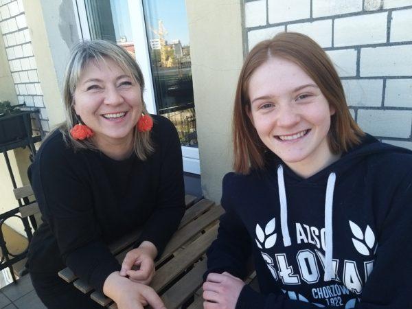 Zdjęcie portretowe dr Barbary Smorczewskiej i Marii Smorczewskiej