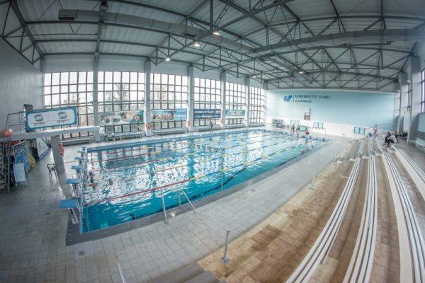 basen Uniwersytetu Śląskiego, kampus Cieszyn