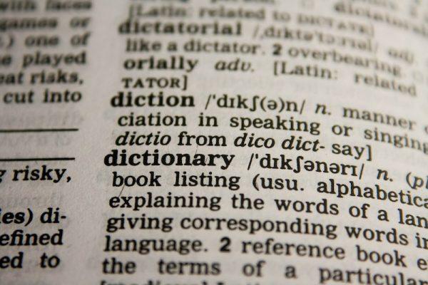 hasło w słowniku