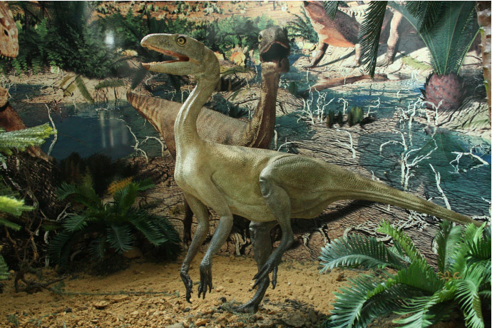 Dinozaur. Fot. Gazeta Uniwersytecka UŚ