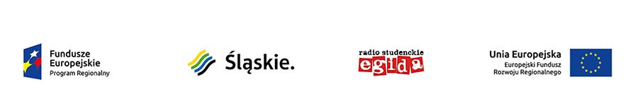 Logo: Fundusze Europejskie Program Regionalny, Województwo Śląskie, SSR Egida, Unia Europejska - Europejski Fundusz Rozwoju Regionalnego