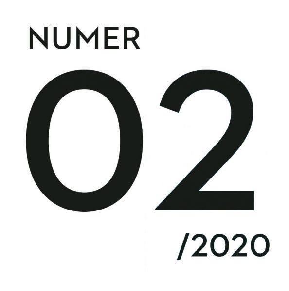 Grafika z napisem numer 02/2020