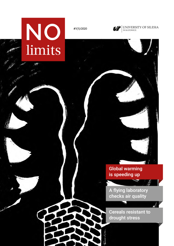 """No Limits"" – cover of the first journal issue"