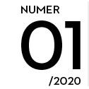 Grafika z napisem numer 01/2020