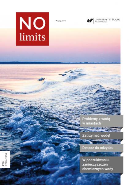 """Okładka drugiego numeru czasopisma """"No Limits"""""""