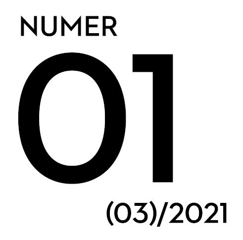 napis: numer 01 (03)/2021