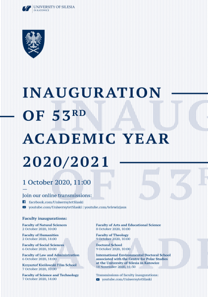 inauguration's poster