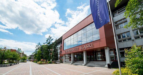 Budynek rektoratu Uniwersytetu Śląskiego