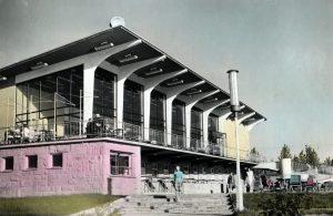 budynek w Parku Śląskim w Chorzowie