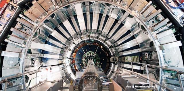 Wnętrze zderzacza LHC