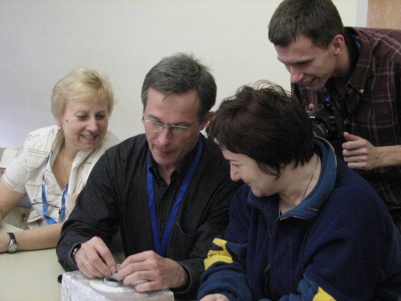 Grupa osób podczas warsztatów