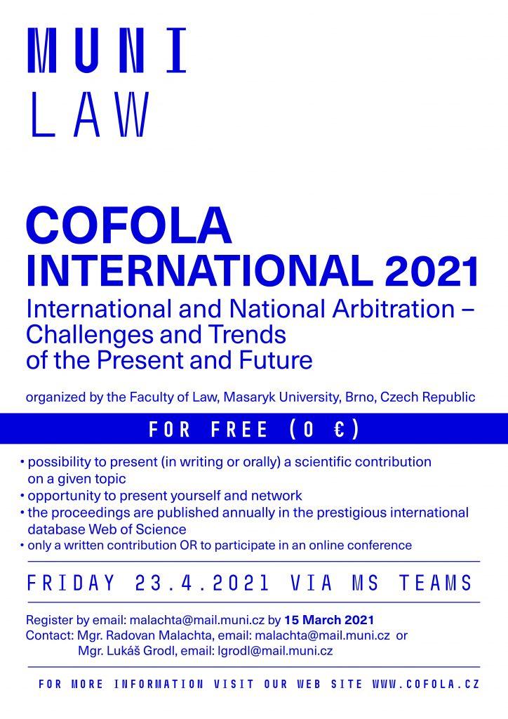 Arbitraż międzynarodowy i krajowy – wyzwania i trendy teraźniejszości i przyszłości
