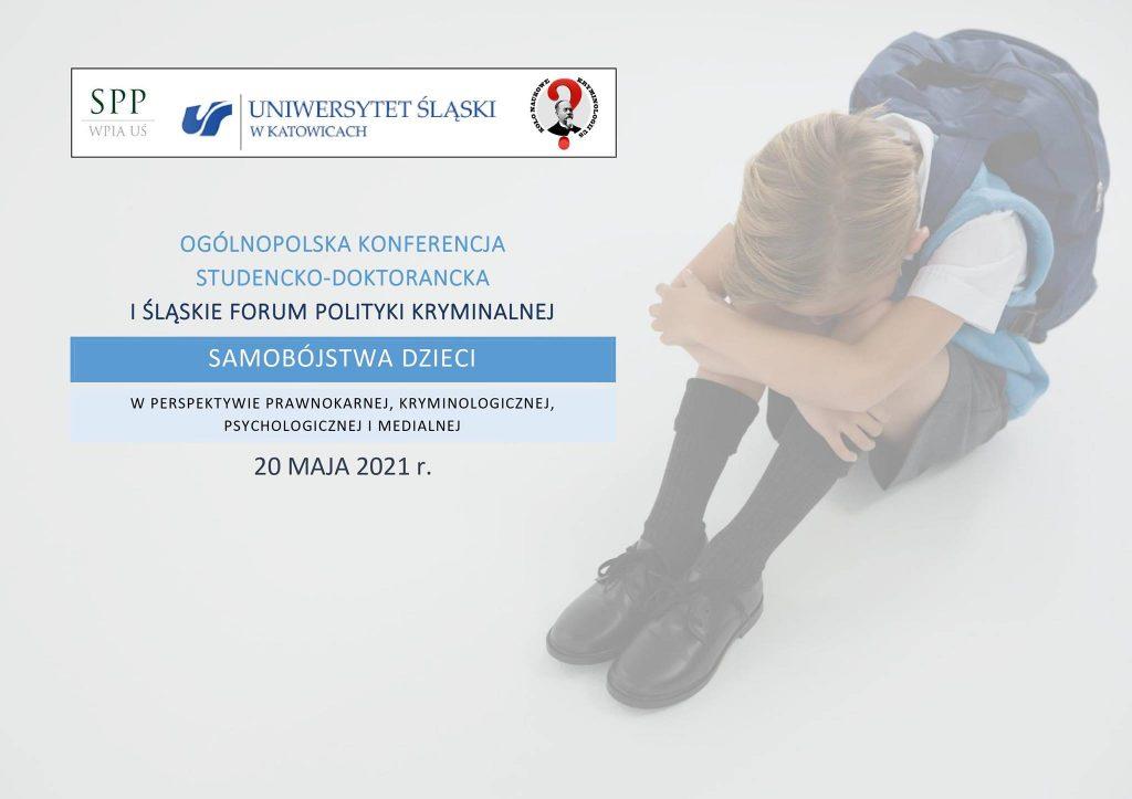 Samobójstwa dzieci – konferencja studencko-doktorancka