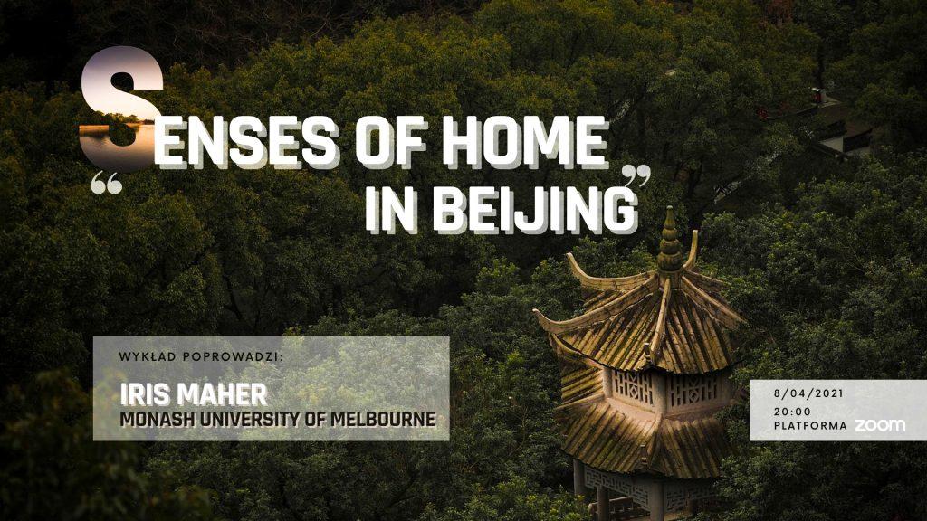 """Senses of Home"" – wykład online"