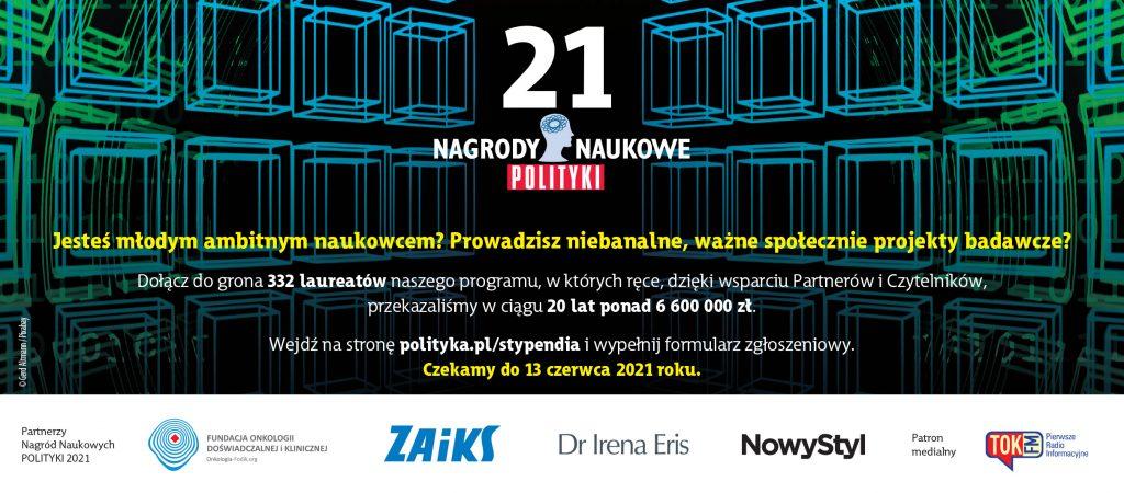 Nagrody Naukowe POLITYKI 2021